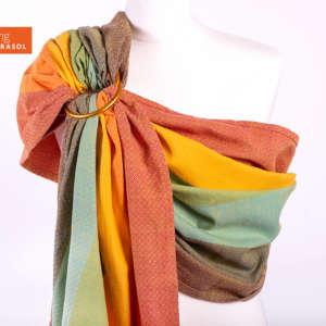 Girasol sling de portage Gold Rainbow