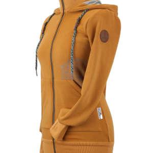 Jaquette de portage Angelwings Hoodie moutarde