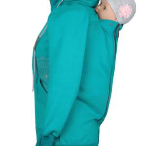 Jaquette de portage Angelwings hoodie aqua