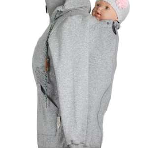 Jaquette de portage Angelwings hoodie grey