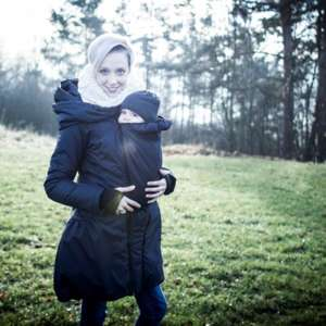 Manteau de portage Angelwings hiver bleu foncé