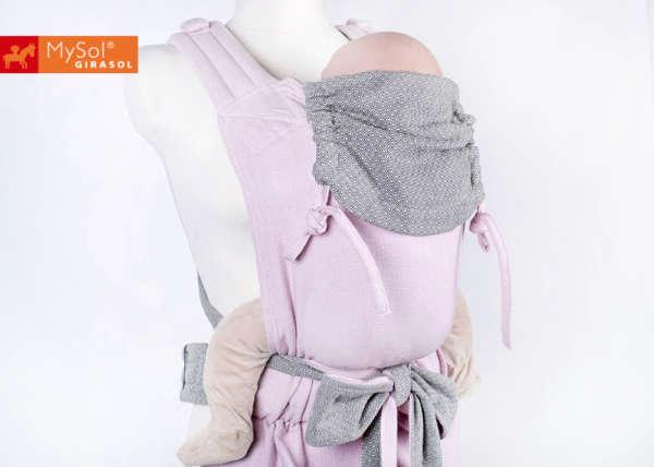 Porte-bébé Mei tai Girasol Mysol Steinrose