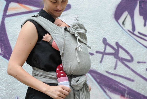 Porte-bébé Mei tai Girasol Mysol Tulum