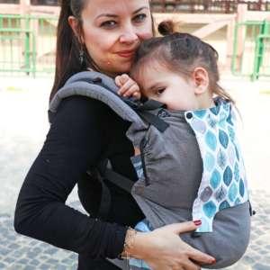 Porte bébé nekoslings switch baby toddler size bold