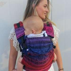 Porte bébé nekoslings switch baby toddler size innan
