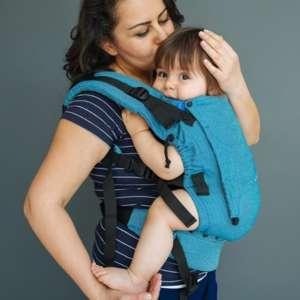Porte bébé nekoslings switch baby toddler size ocean rise