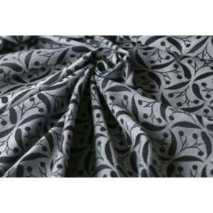 Sling echarpe de portage yaro retro berry black white repreve