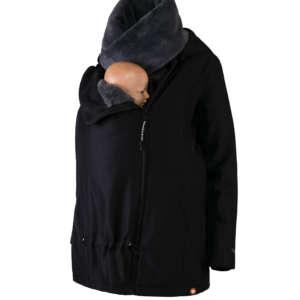 Veste de portage homme et femme Wombat & Co London hiver noire