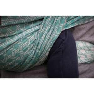 sling de portage Yaro basket Emerald