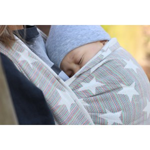 sling echarpe de portage 100% coton Yaro star random 01