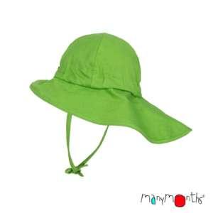 Chapeaux anti-UV naturel en chanvre ManyMonths évolutif vert