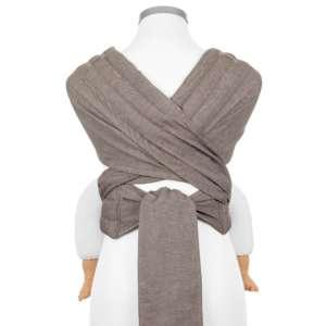 Porte bébé écharpe, grande taille, coton BIO, à nouer | Fidella