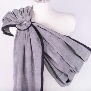 Sling de portage Girasol gris - coton résistant