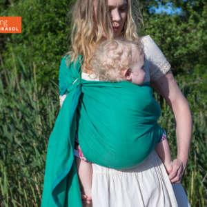 Sling de portage Girasol vert