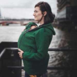 wear-me-veste-portage-4-1-laine-porte-bébé-vert