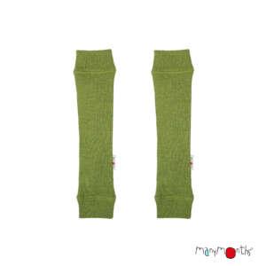 protège bras enfant laine mérinos vert