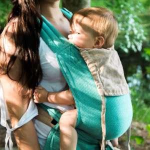 Porte bébé mei tai mysol caribe Girasol