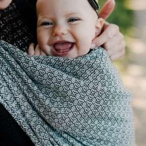 echarpe de portage pour porter bébé physiologique, achat en ligne