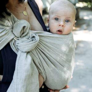 sling en lin, pour l'été, pour le chaud, de la marque bud&Blossom
