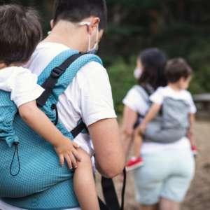 Porte bébé pour porter votre enfant. De la taille 2 à 5 ans, idéal pour les randonnée. Livraison en Suisse